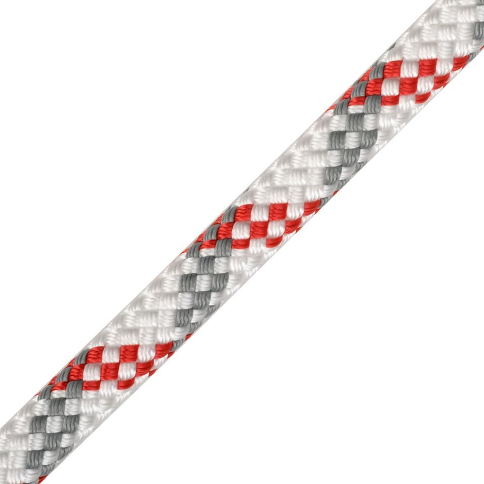 Worksafe Plus 10.5mm white/red/grey 50m