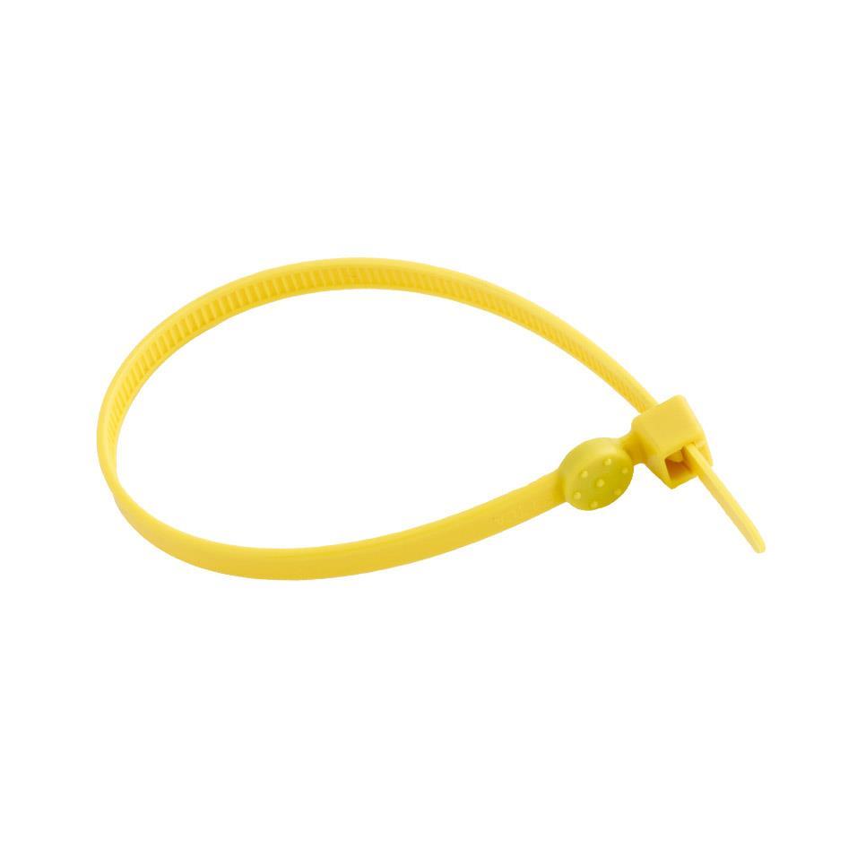 iD Zip Tie Yellow Pack of 50