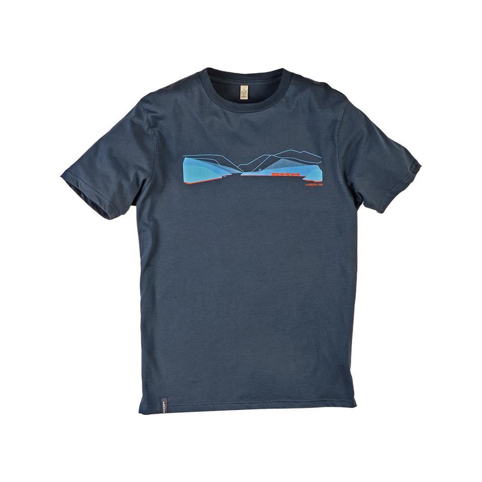 Mens Pass T-shirt - Denim Blue/Blue